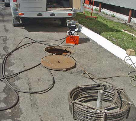 бестранщейный ремонт канализации